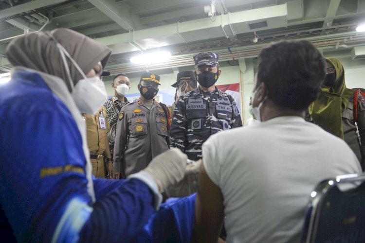 Capaian Vaksinasi Covid-19, Indonesia Peringkat 5 Negara Cakupan Terbesar Dunia