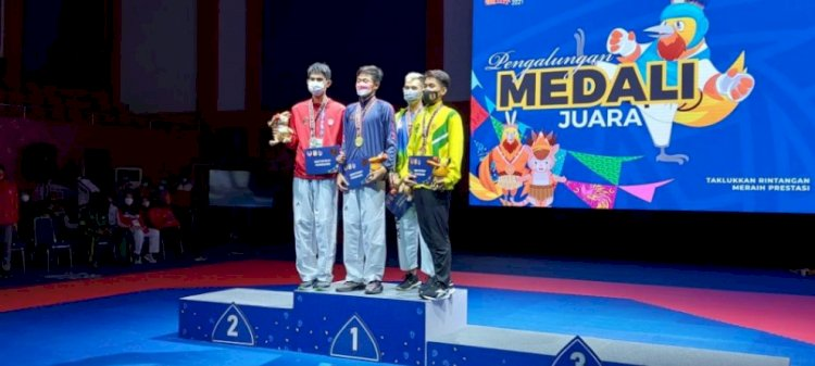 Jawa Barat Pertahankan Gelar Juara Umum Taekwondo