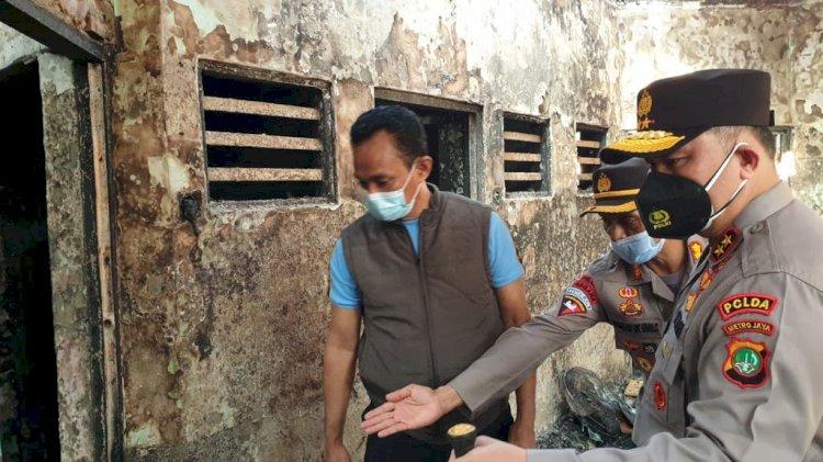 Berkas Segera Dilimpahkan ke Kejati DKI, 6 Tersangka Kebakaran Lapas Tangerang Tidak Ditahan