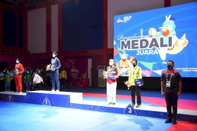 Perolehan Sementara Medali PON XX Papua 2021: Jabar Pemuncak Klasemen Sementara Perolehan Medali