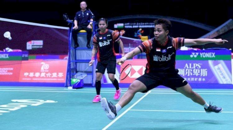 Ganda Putri Indonesia Greysia/Apriyani Sumbang Poin di Penyisihan Piala Uber