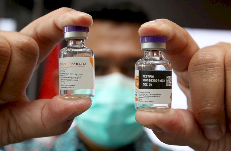 Penerima Vaksin Covid-19 Dosis Kedua di Indonesia Capai 57,4 Juta Orang