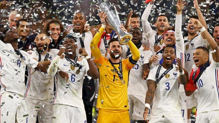 Menang Dramatis  2-1 dari Spanyol, Prancis juara UEFA Nations League 2021