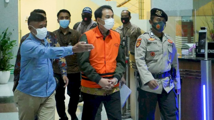 Azis Syamsuddin Akui Punya 'Orang Dalam' di KPK