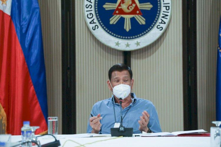Rodrigo Duterte Usul Warga Filipina yang Enggan Divaksin untuk Disuntik saat Tidur