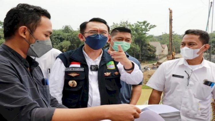 Pemkab Bekasi Targetkan Jembatan Bojongmangu-Karawang Rampung Desember 2021