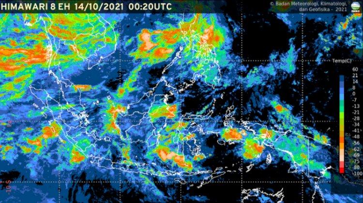 Hujan Lebat Diprakirakan Terjadi di Sejumlah Wilayan Indonesia